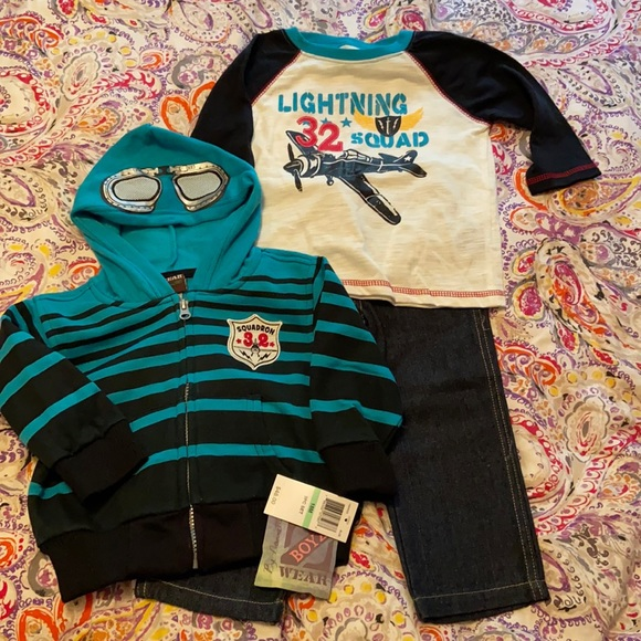 Boys 3 piece outfit